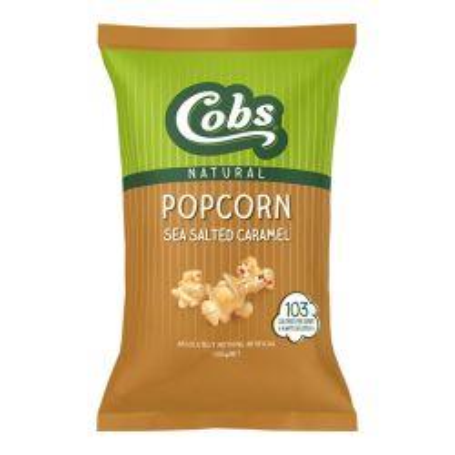 Natural Popcorn - Sea Salted Caramel