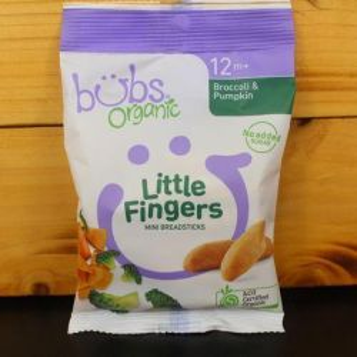 Broccoli & Pumpkin Little Fingers