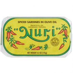 Spiced Sardines in Olive Oil