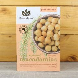 Pink Salt Roasted Macadamias