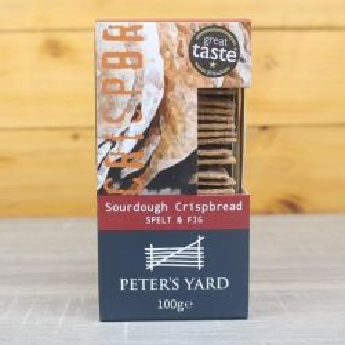 Spelt & Fig Sourdough Crackers