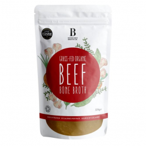 Grass Fed Organic Beef Bone Broth