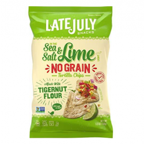 Sea Salt & Lime No Grain Tortilla Chips