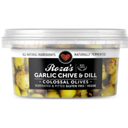 Colossus Garlic Chive Olives