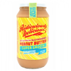 Super Sized Smooth Peanut Butter