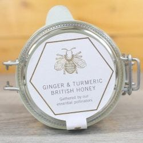 Ginger & Turmeric British Honey