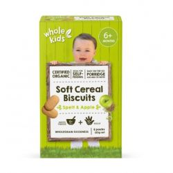 Organic Soft Cereal Biscuits - Spelt & Apple