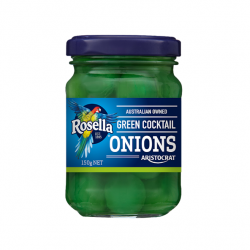 Green Cocktail Onions