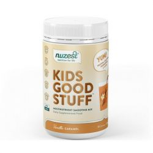 Kids Good Stuff Vanilla Caramel