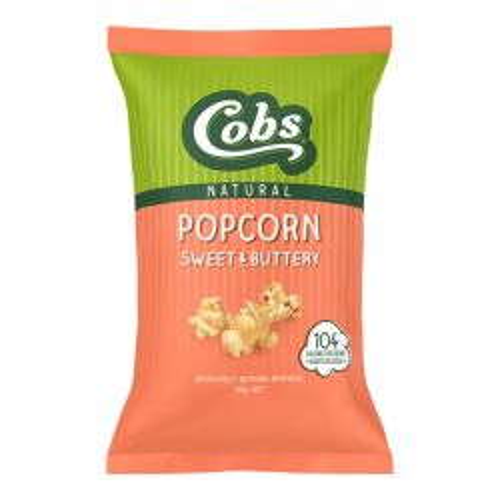 Natural Popcorn - Sweet As