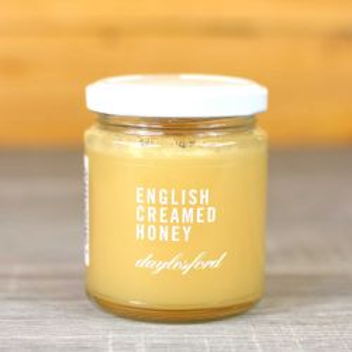 Organic English Creamed Honey