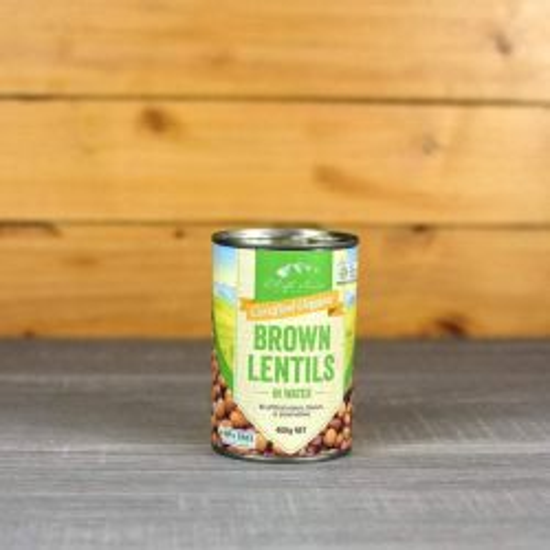 Organic Brown Lentil in Water