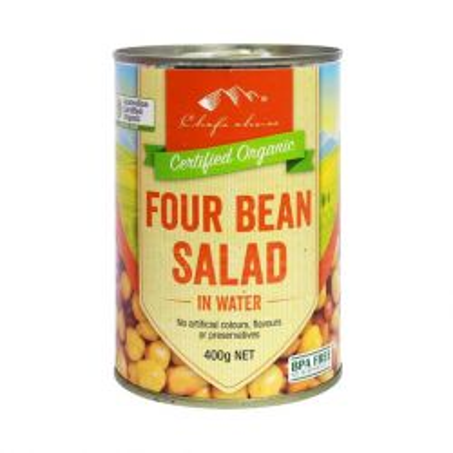 Organic 4 Bean Salad in Water