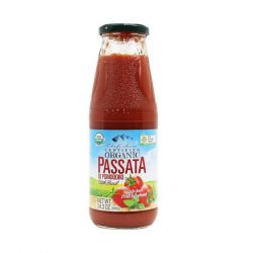 Organic Passata - Tomatto with Basil