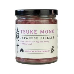 Pink Shallots with Pepper Berry