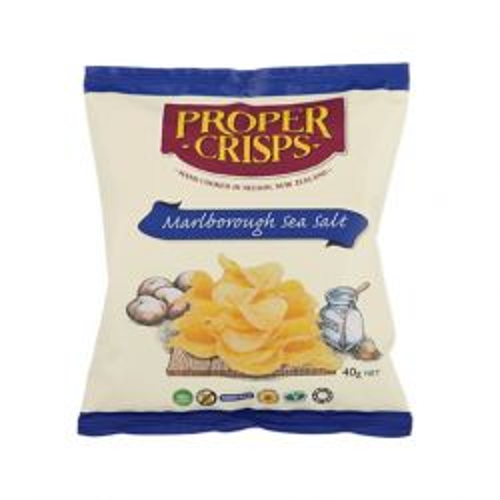 Marlborough Sea Salt Chips Snackpack