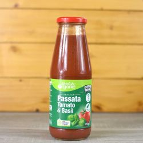 Organic Tomato Passata with Basil
