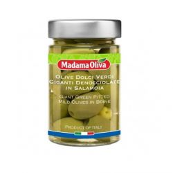 Olives in Brine - Giant Green Pitted Mild