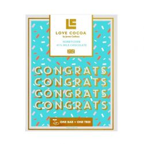 Congrats Honeycomb Milk Chocolate