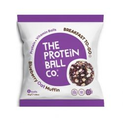 Blueberry Oat Muffin Protein Ball