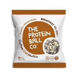 Coffee Oat Muffin Protein Balls