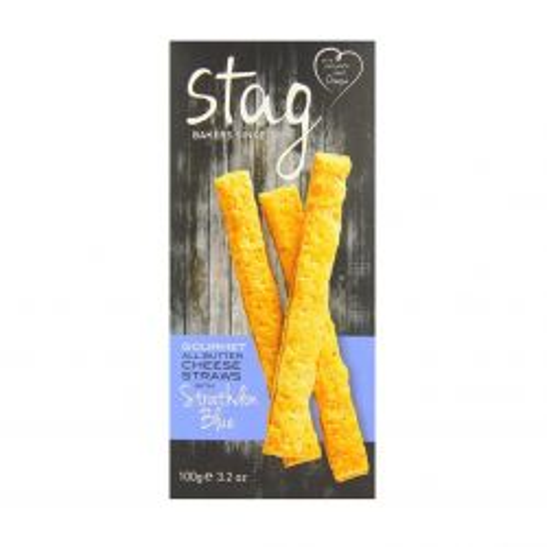 Strathdon Blue Cheese Straw 100g
