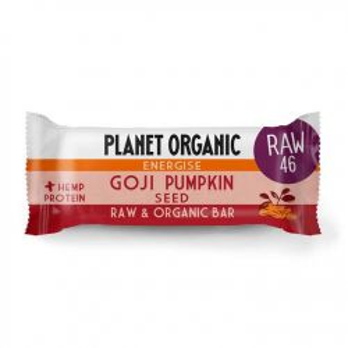 Organic Goji Pumpkinseed Energise Bar