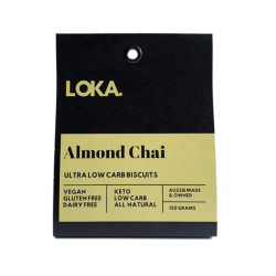 Almond Chai Biscuit