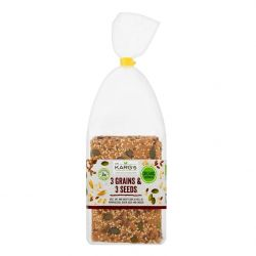 3 Grains & 3 Seed Organic Crispbread