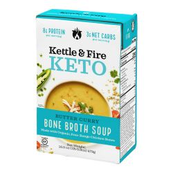 Keto Bone Broth Soup - Butter Curry
