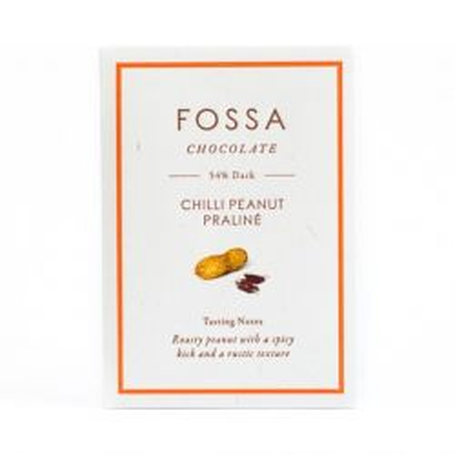 Dark Chocolate - Chilli Peanut Praline 54%