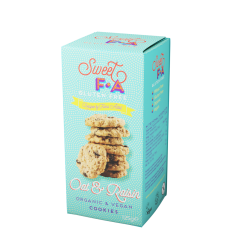 Organic & Vegan Cookies - Oat & Raisin
