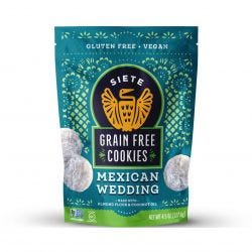 Grain Free Cookies - Mexican Wedding