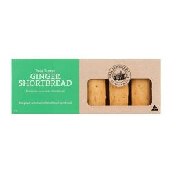 Pure Butter Shortbread - Ginger