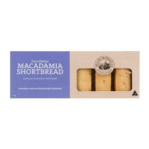 Pure Butter Shortbread - Macadamia