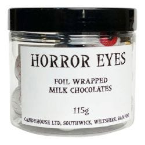 Halloween Milk Chocolates - Horror Eyes