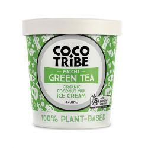 Matcha Green Tea Coconut Ice Cream