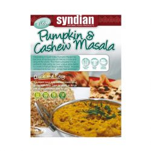 Pumpkin & Cashew Masala