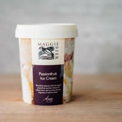 Passionfruit Ice Cream