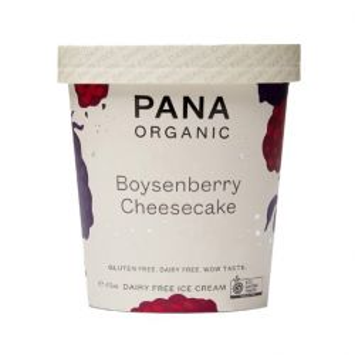 Organic Boysenberry Cheesecake Ice Cream