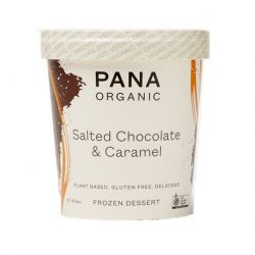 Organic Salted Choc Caramel Ice Cream