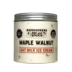 Maple Walnut Oat Milk Ice Cream