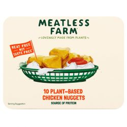 Frozen Plant Based Chicken Nuggets