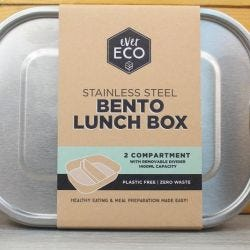 Stainless Steel Bento Lunch Box - Double Compartme