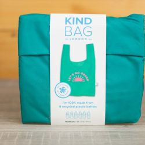 Go Green Reusable Shopping Kind Bag