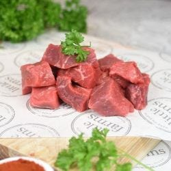 Diced Premium Grass-Fed Beef