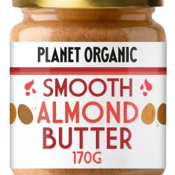 Org Smooth Almond Butter 170g