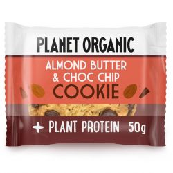 Organic Almond Butter & Choco Chip Cookie