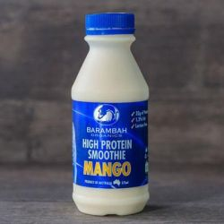Organic High Protein Mango Smoothie