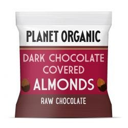 Organic Almonds Covered Chocolate